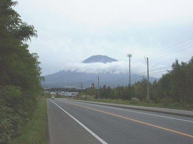 倶知安から見た羊蹄山