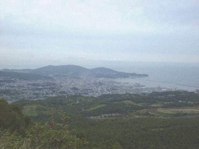 毛無山展望台からの風景(1)