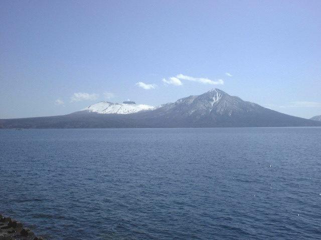 支笏湖と樽前山,風不死岳(1)