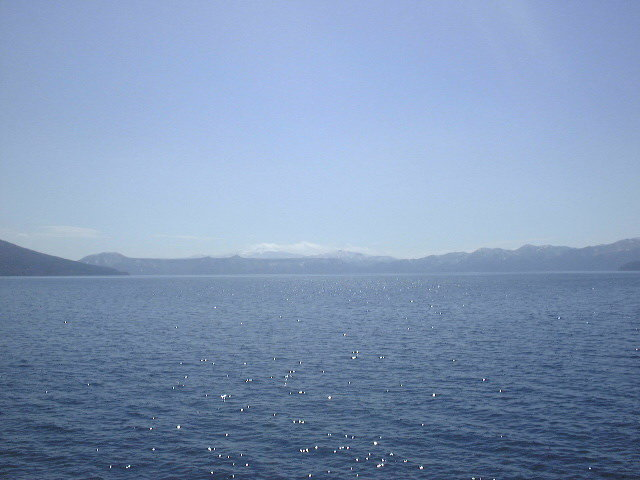 支笏湖とホロホロ山(1)