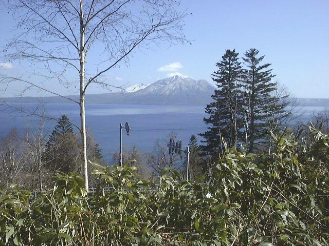 支笏湖と風不死岳(3)