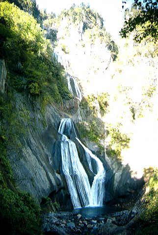 天人峡温泉・羽衣の滝