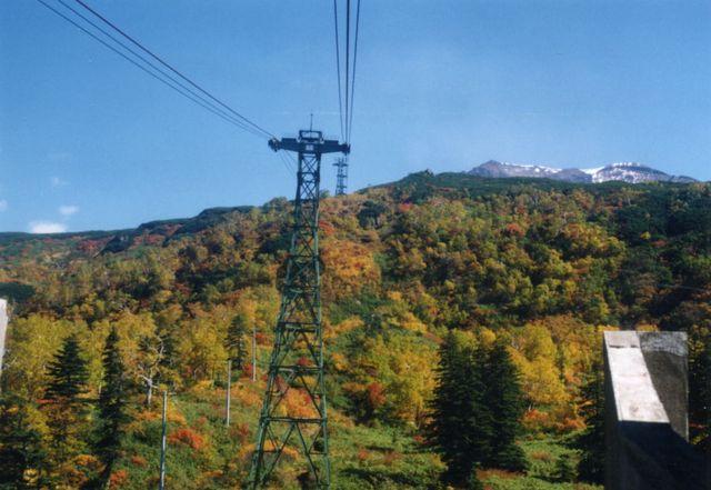 旭岳ロープウェイからの風景(1)