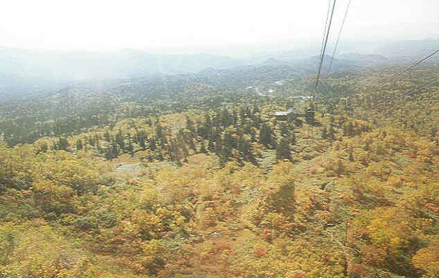 旭岳ロープウェイからの風景(3)
