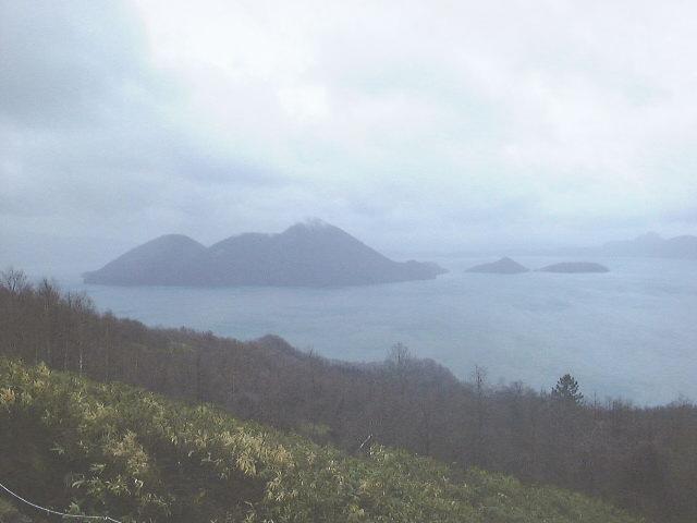 洞爺サイロ展望台からの洞爺湖