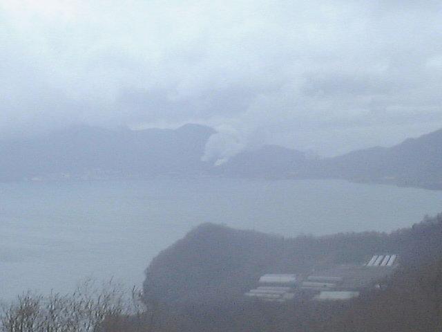 洞爺サイロ展望台からの洞爺湖と有珠山(4)