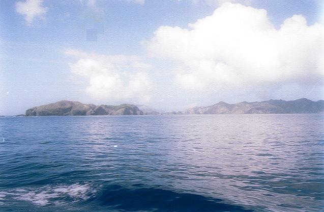 おがさわら丸から見た父島(5)