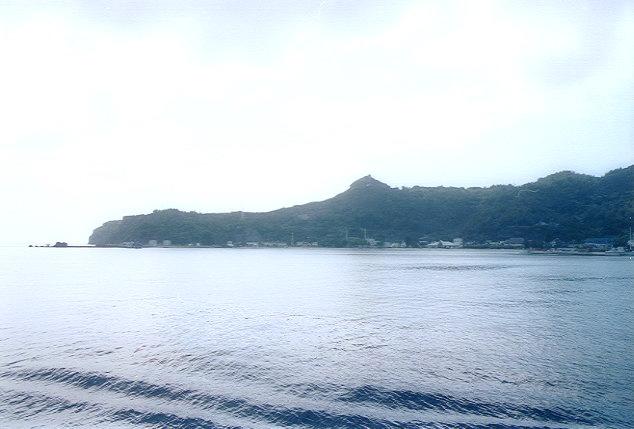 おがさわら丸から見た父島(7)