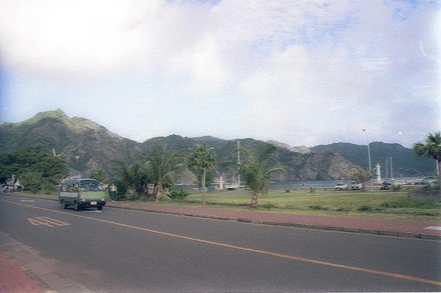 大村の島内道路
