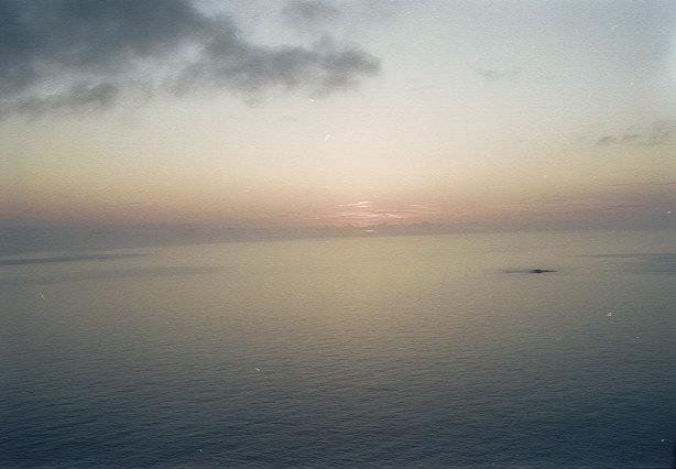ウェザーステーションからの夕陽(3)