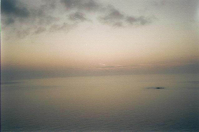 ウェザーステーションからの夕陽(4)