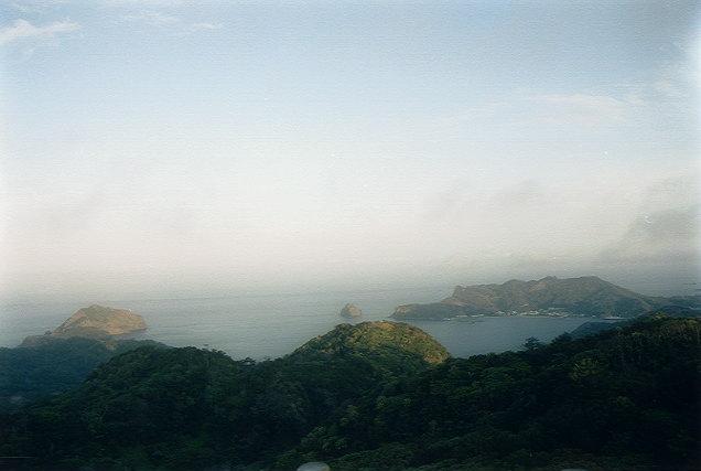中央山から二見浦を望む(1)