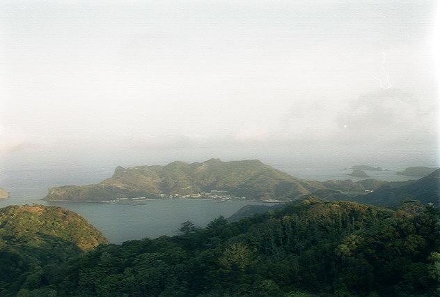 中央山から二見浦を望む(2)