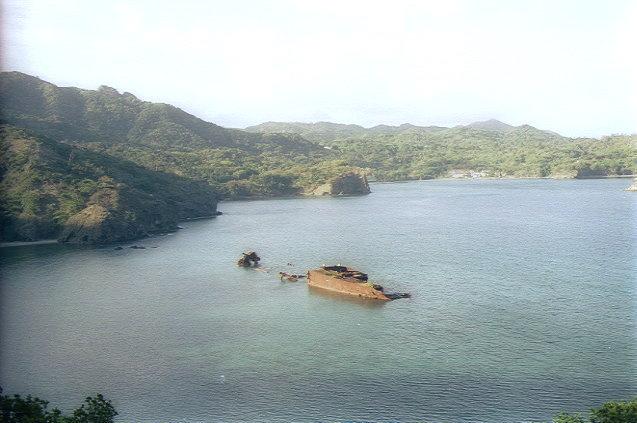 境浦(3)/沈没船・濱江丸(旧日本軍の輸送船)