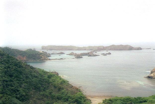 中山峠から南島を望む(2)
