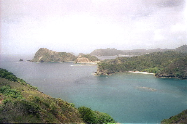 中山峠からの眺め(2):野羊山,洲崎,コペペ海岸