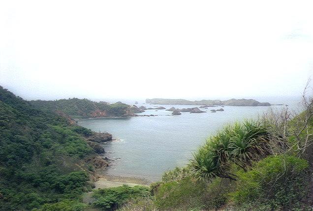 中山峠から南島を望む(1)