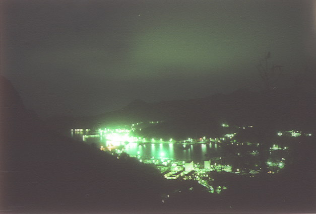 二見港の夜景