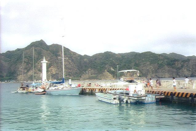 二見港のプレジャーボート